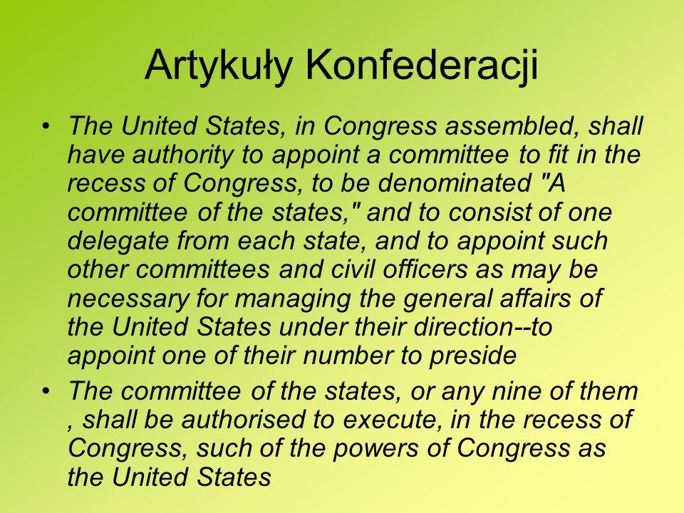 Artykuły Konfederacji