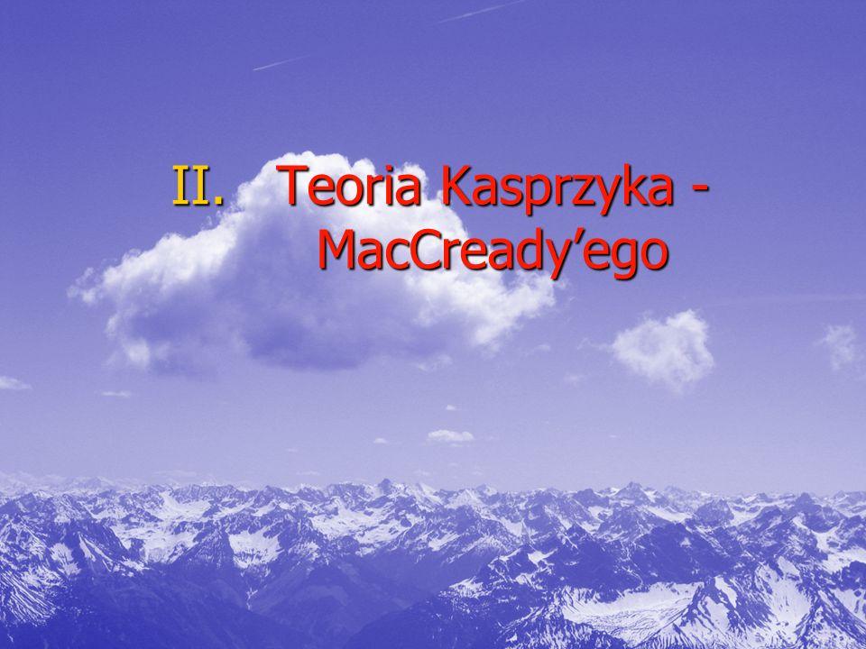 Teoria Kasprzyka -MacCready'ego