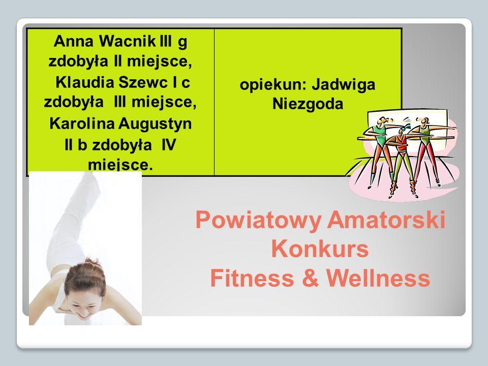 Powiatowy Amatorski Konkurs Fitness & Wellness