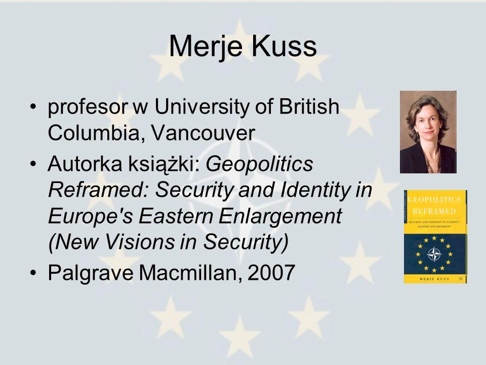 Merje Kuss profesor w University of British Columbia, Vancouver