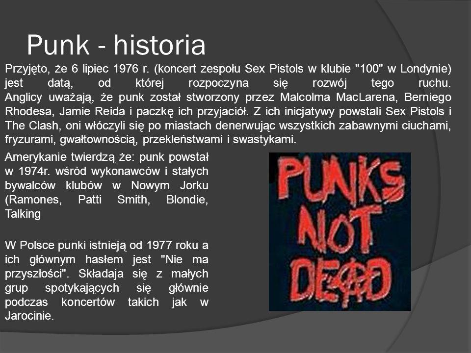 Punk - historia