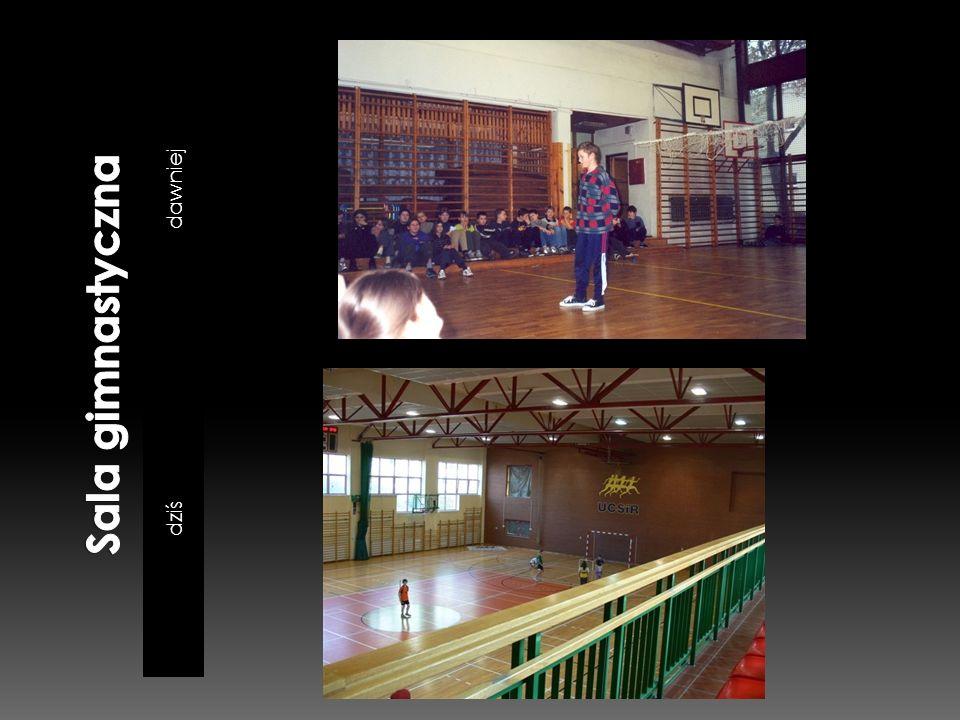 Sala gimnastyczna dawniej dziś