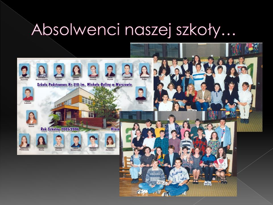 Absolwenci naszej szkoły…