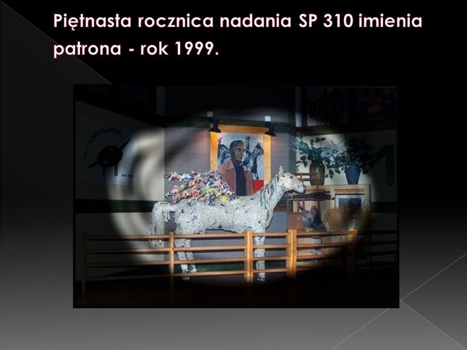 Piętnasta rocznica nadania SP 310 imienia patrona - rok 1999.