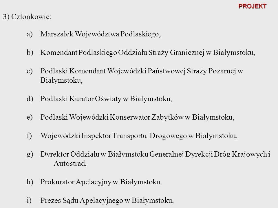 Marszałek Województwa Podlaskiego,