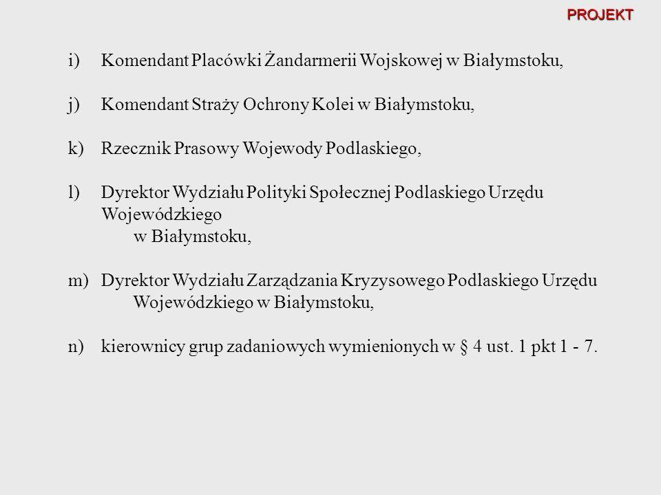 Komendant Placówki Żandarmerii Wojskowej w Białymstoku,