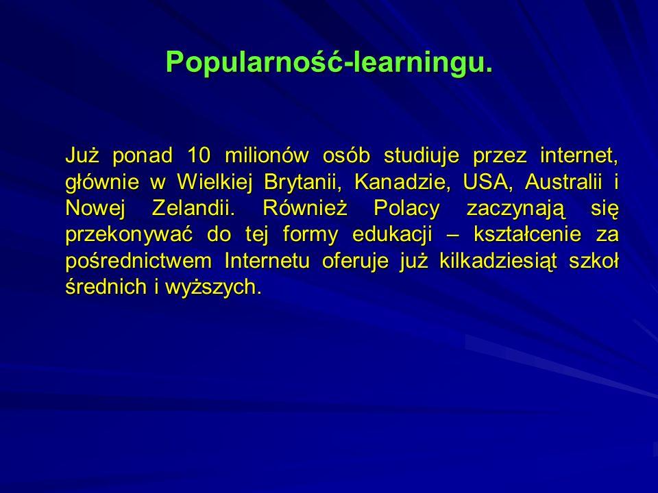 Popularność-learningu.