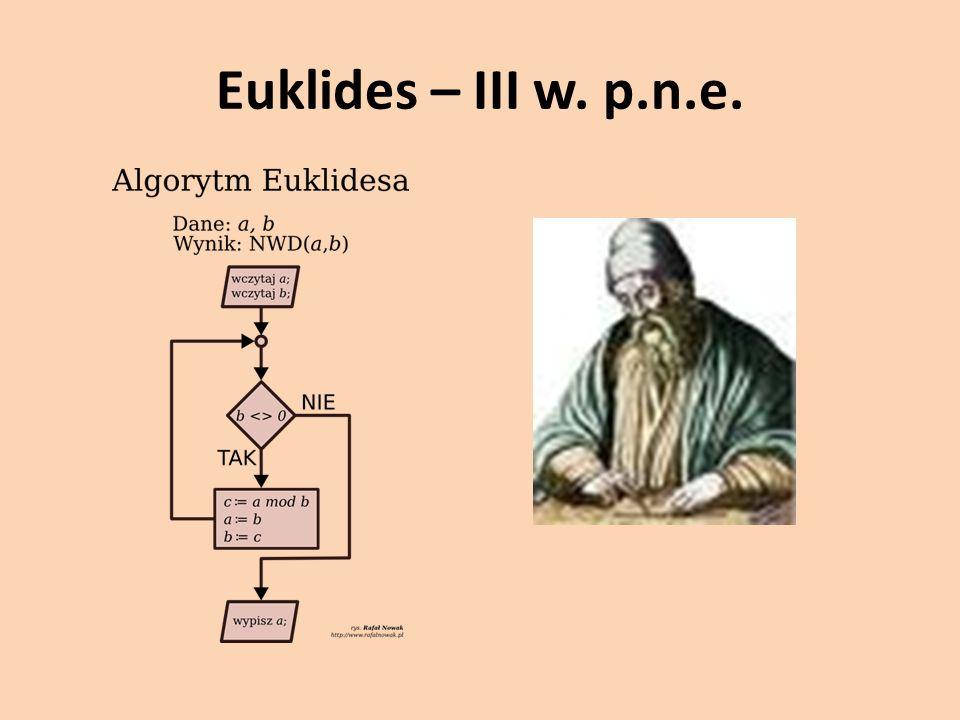 Euklides – III w. p.n.e.