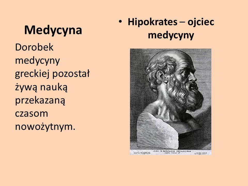 Hipokrates – ojciec medycyny