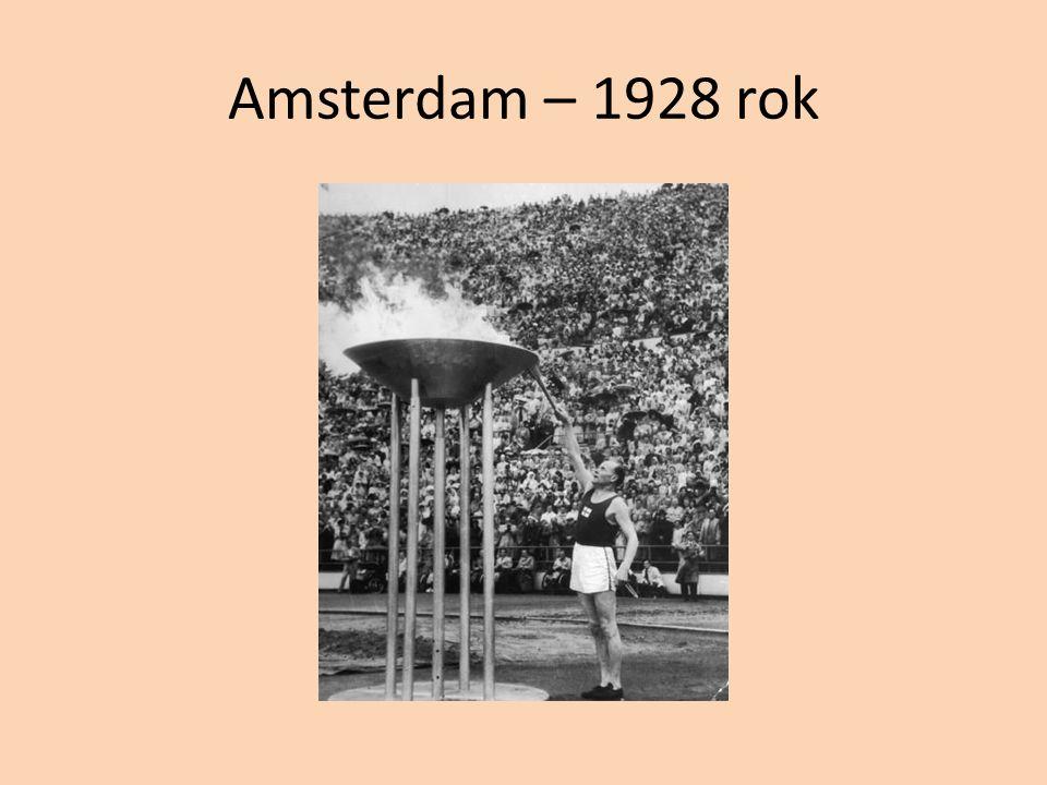 Amsterdam – 1928 rok