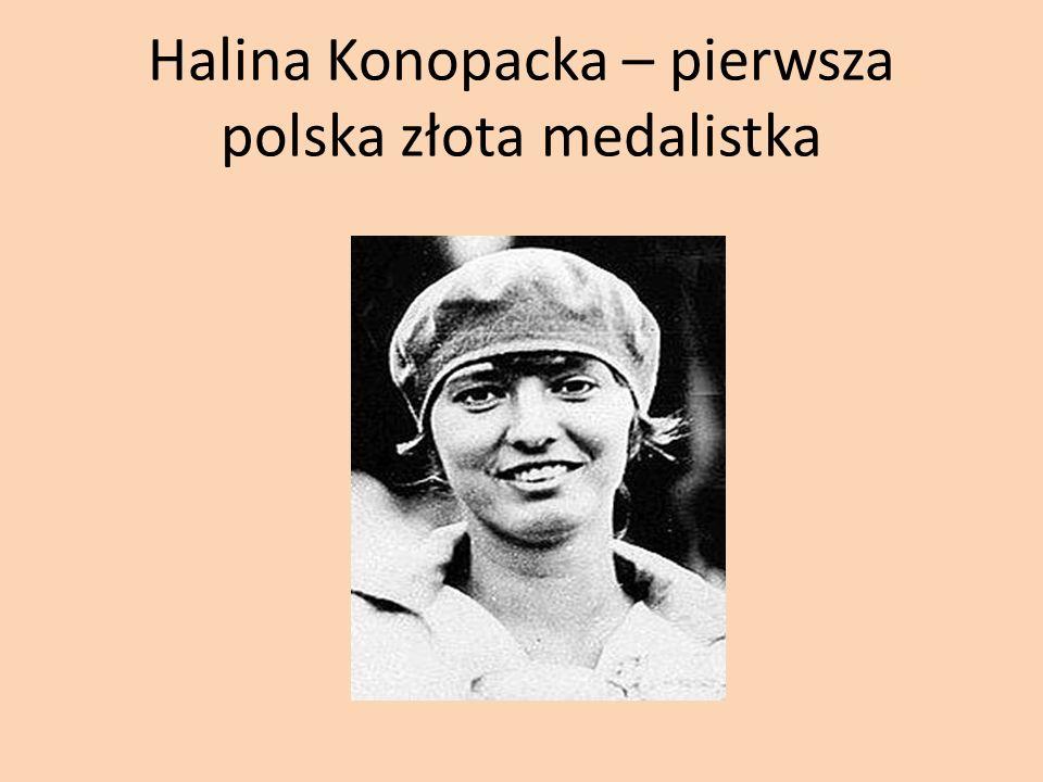 Halina Konopacka – pierwsza polska złota medalistka