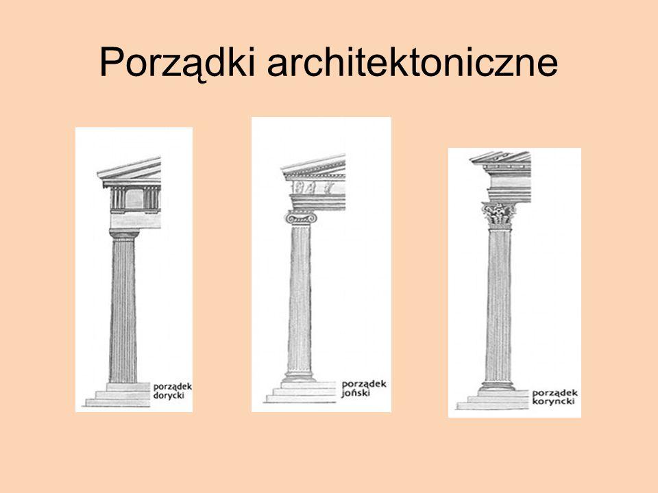 Porządki architektoniczne