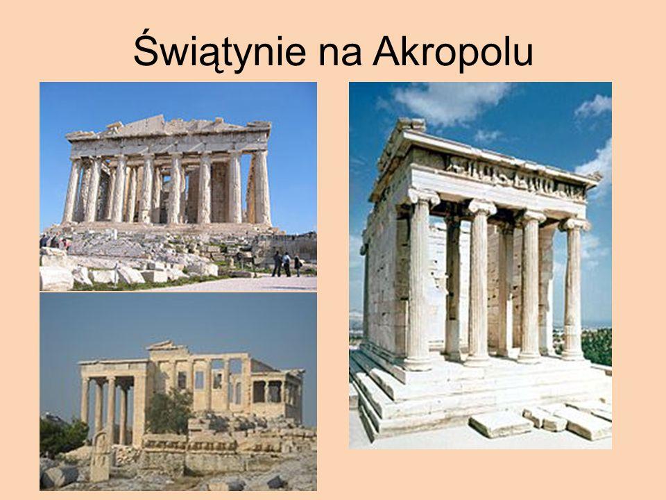Świątynie na Akropolu
