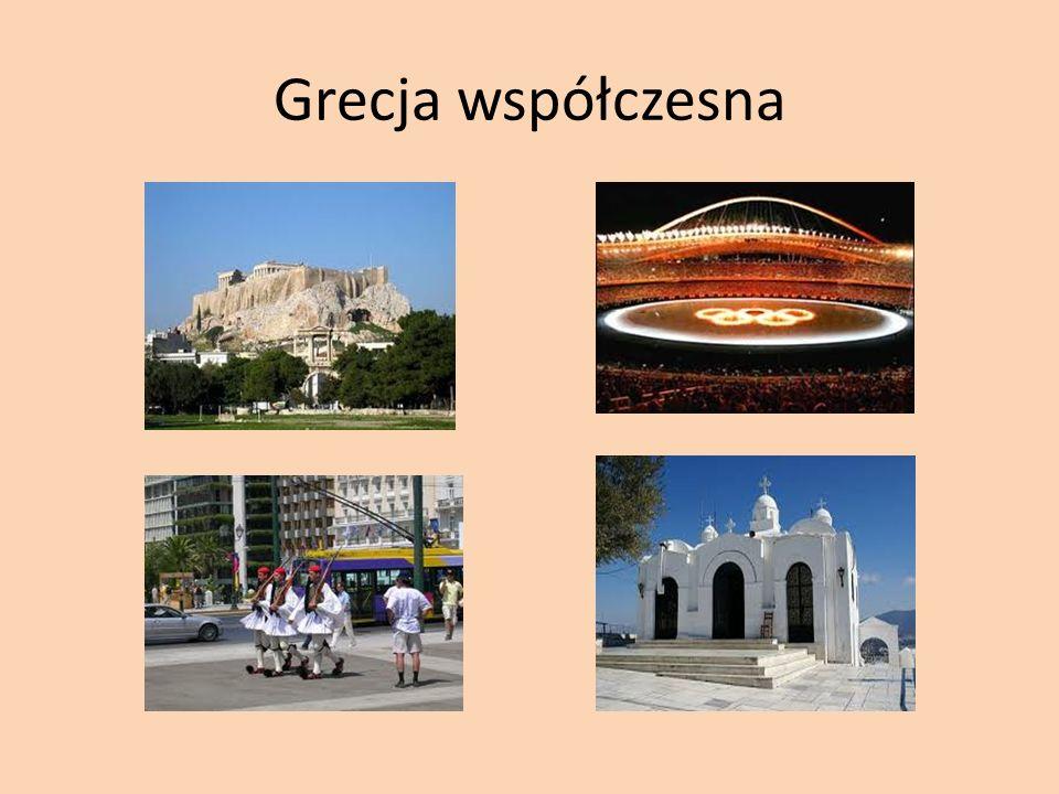 Grecja współczesna