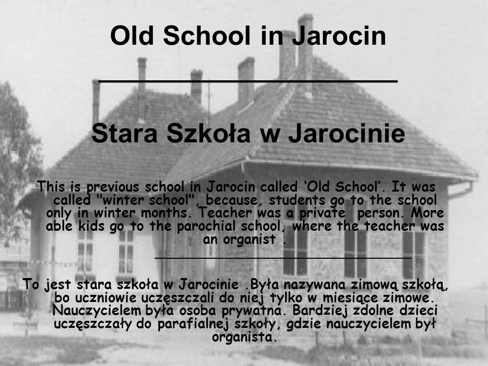 Old School in Jarocin ____________________ Stara Szkoła w Jarocinie