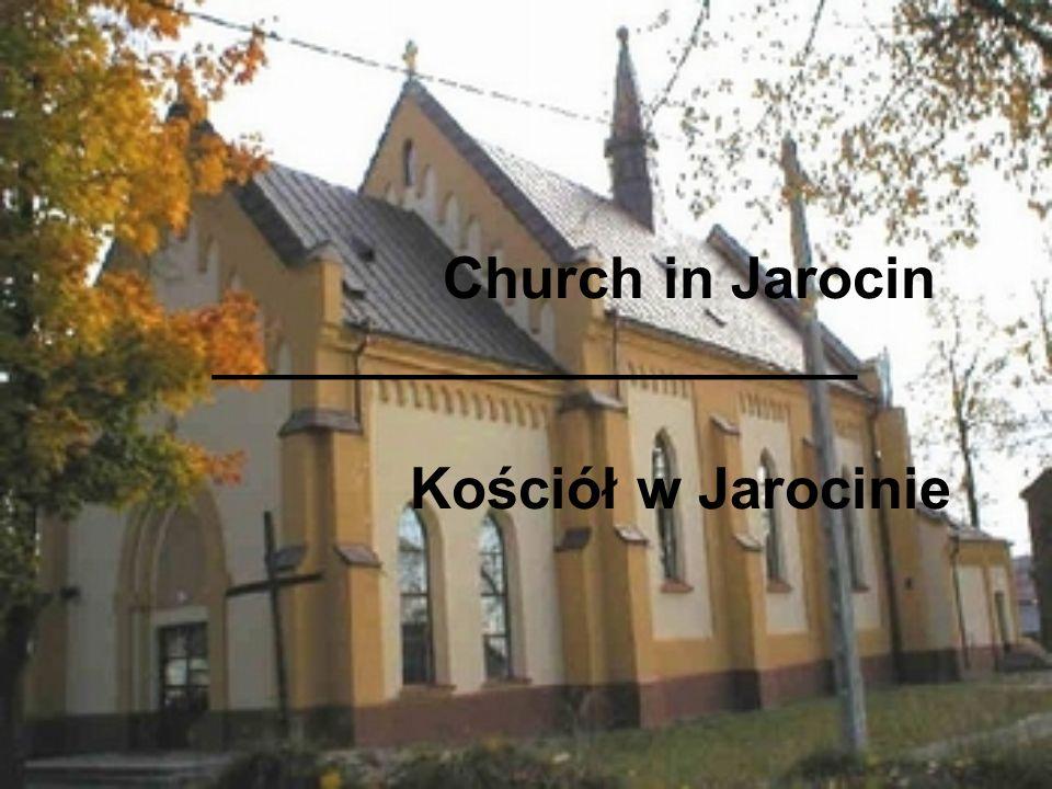 Church in Jarocin ____________________ Kościół w Jarocinie