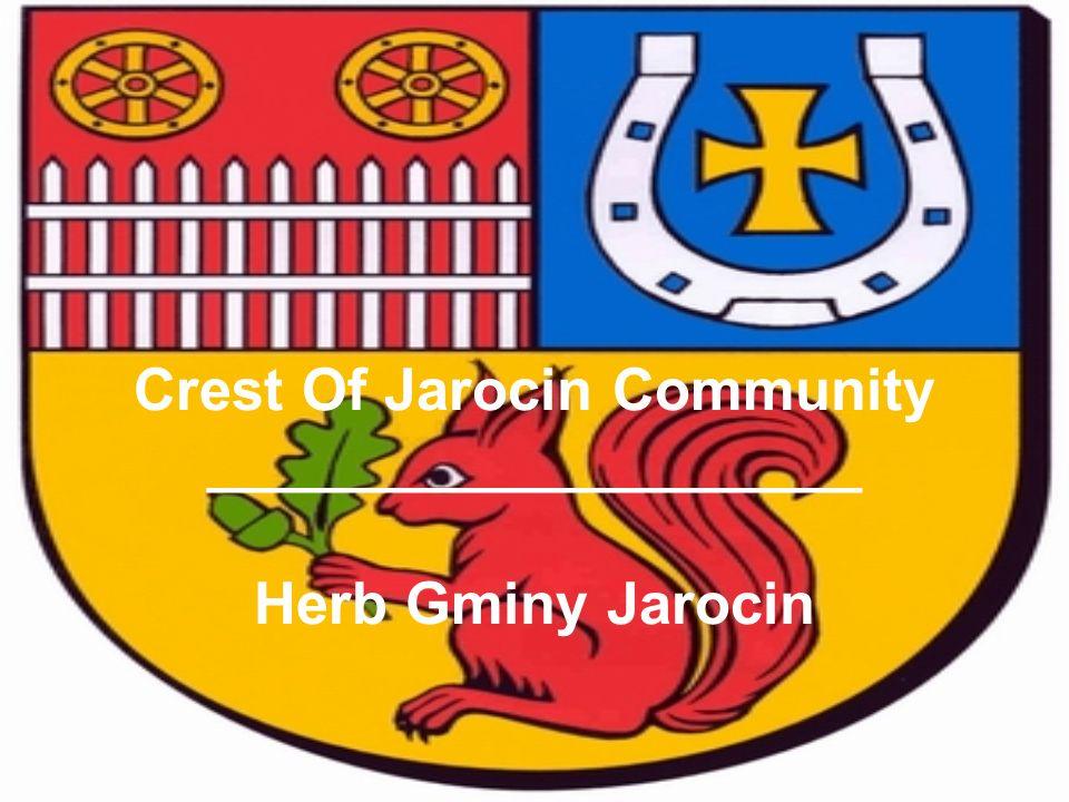 Crest Of Jarocin Community ____________________ Herb Gminy Jarocin