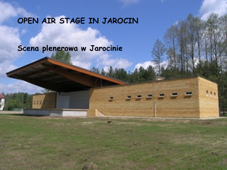 OPEN AIR STAGE IN JAROCIN