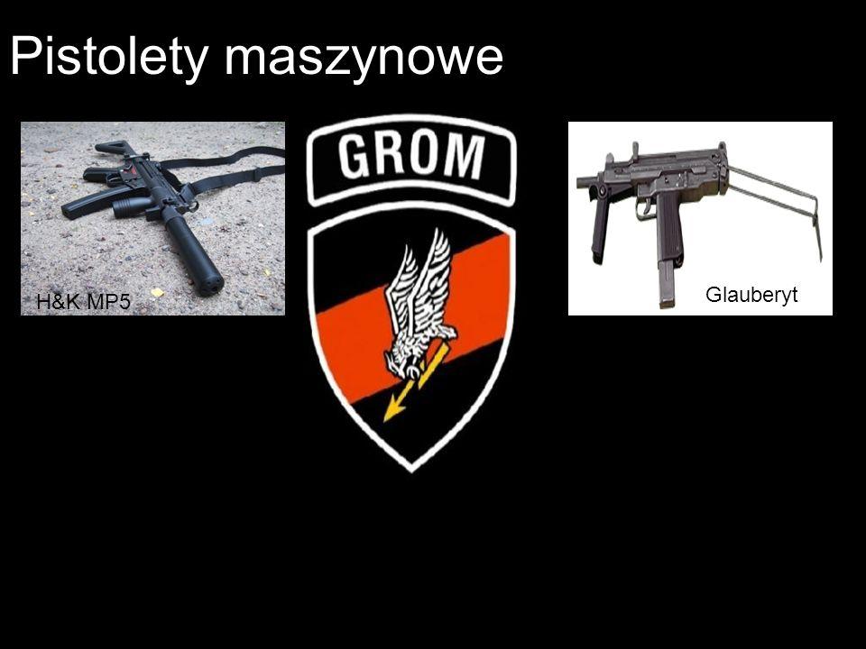 Pistolety maszynowe Glauberyt H&K MP5