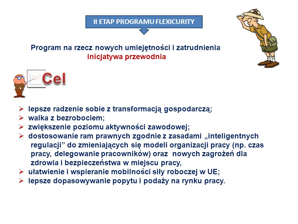 II ETAP PROGRAMU FLEXICURITY