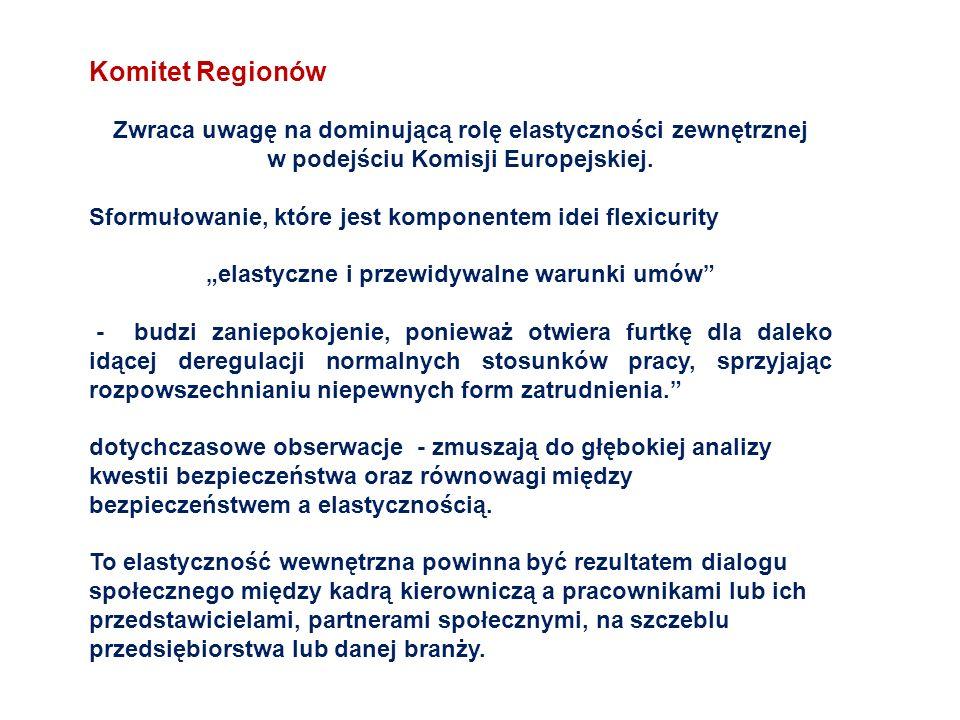 """""""elastyczne i przewidywalne warunki umów"""