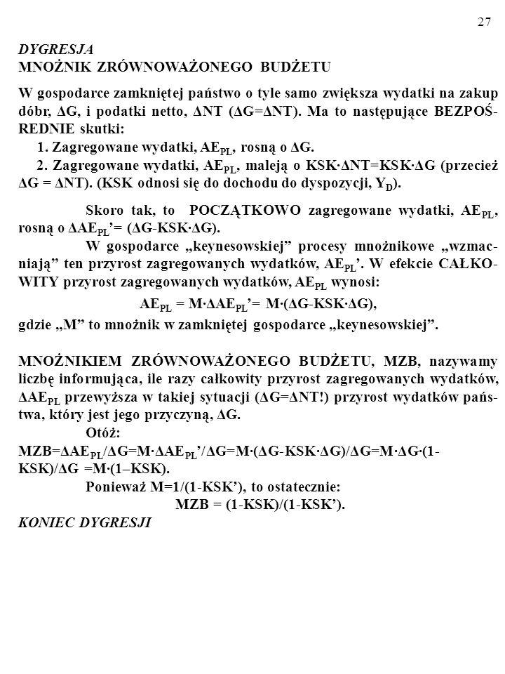 AEPL = M·ΔAEPL'= M·(ΔG-KSK·ΔG),