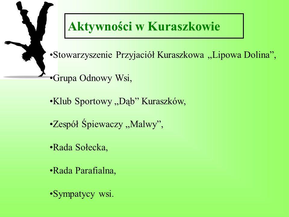 Aktywności w Kuraszkowie