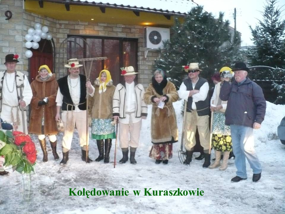 Kolędowanie w Kuraszkowie
