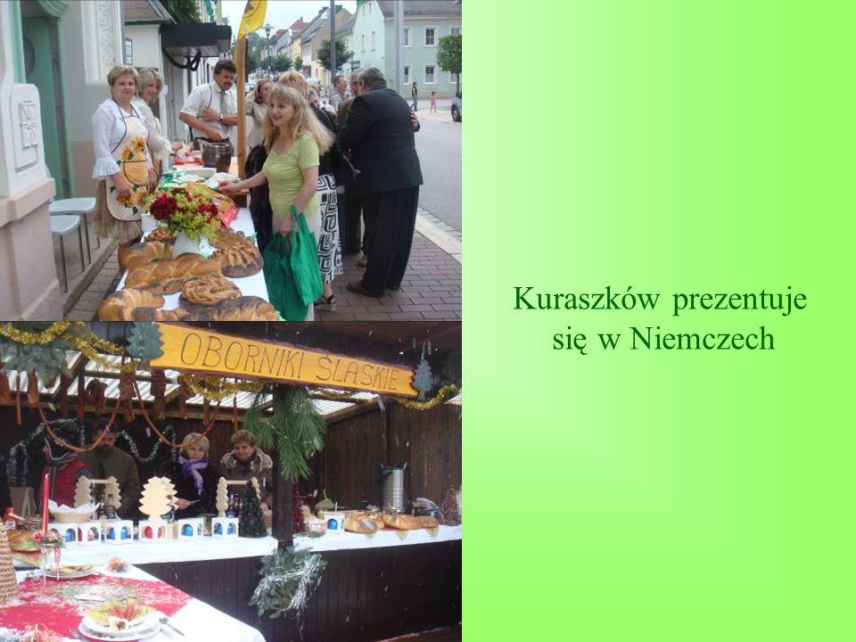 Kuraszków prezentuje się w Niemczech