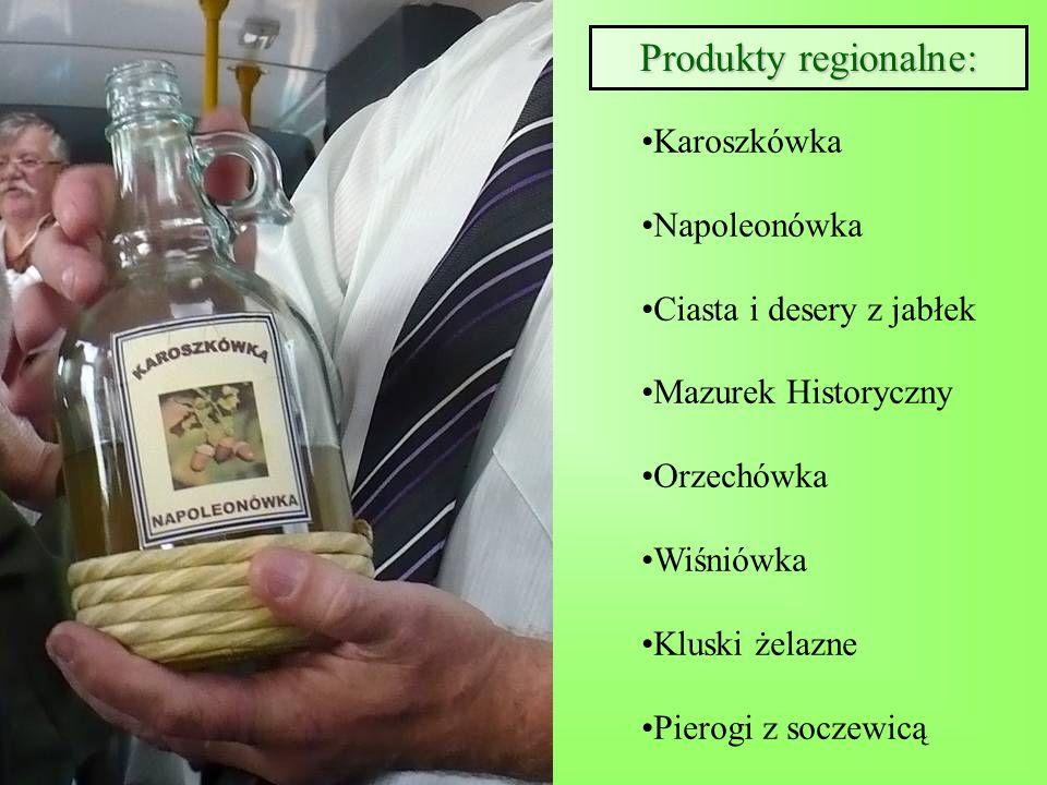 Produkty regionalne: Karoszkówka Napoleonówka Ciasta i desery z jabłek