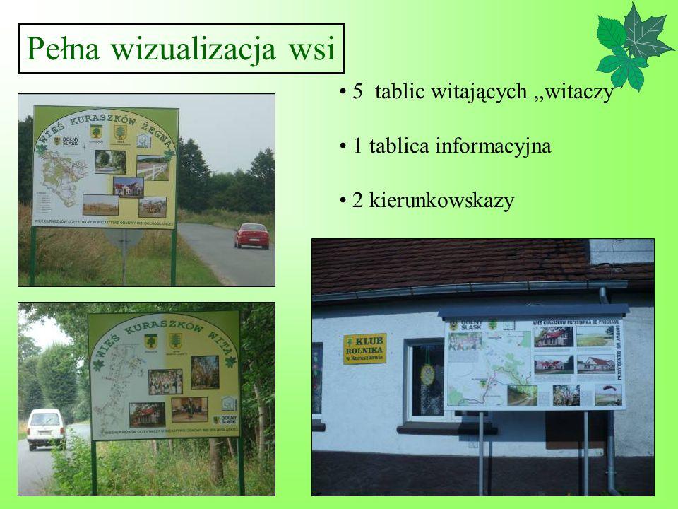 Pełna wizualizacja wsi