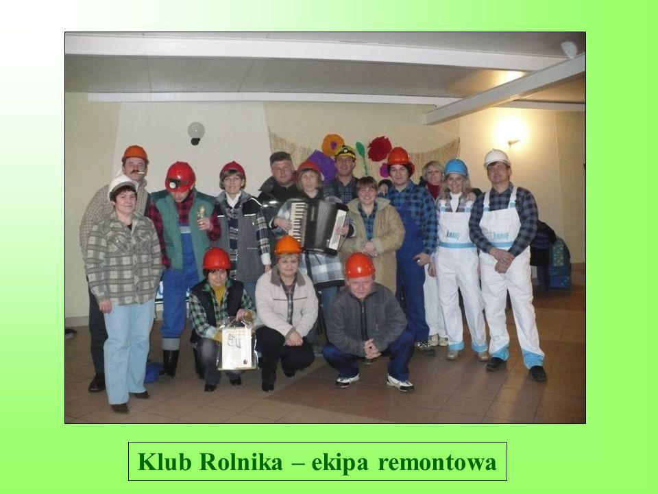 Klub Rolnika – ekipa remontowa
