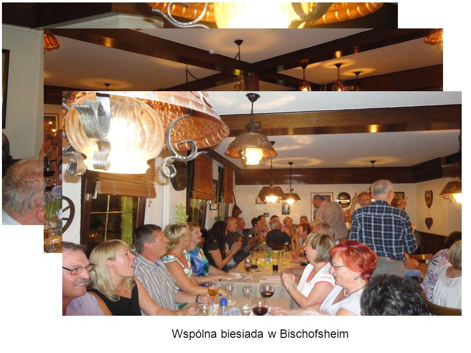 Wspólna biesiada w Bischofsheim