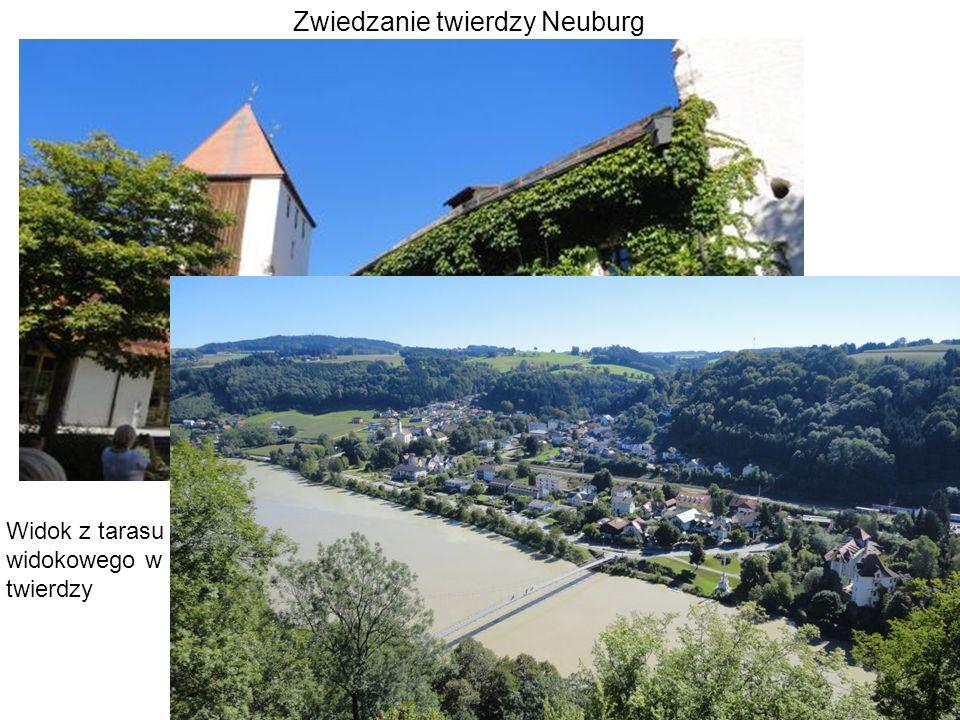 Zwiedzanie twierdzy Neuburg