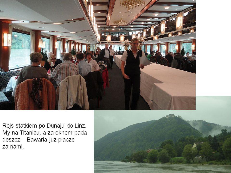 Rejs statkiem po Dunaju do Linz.
