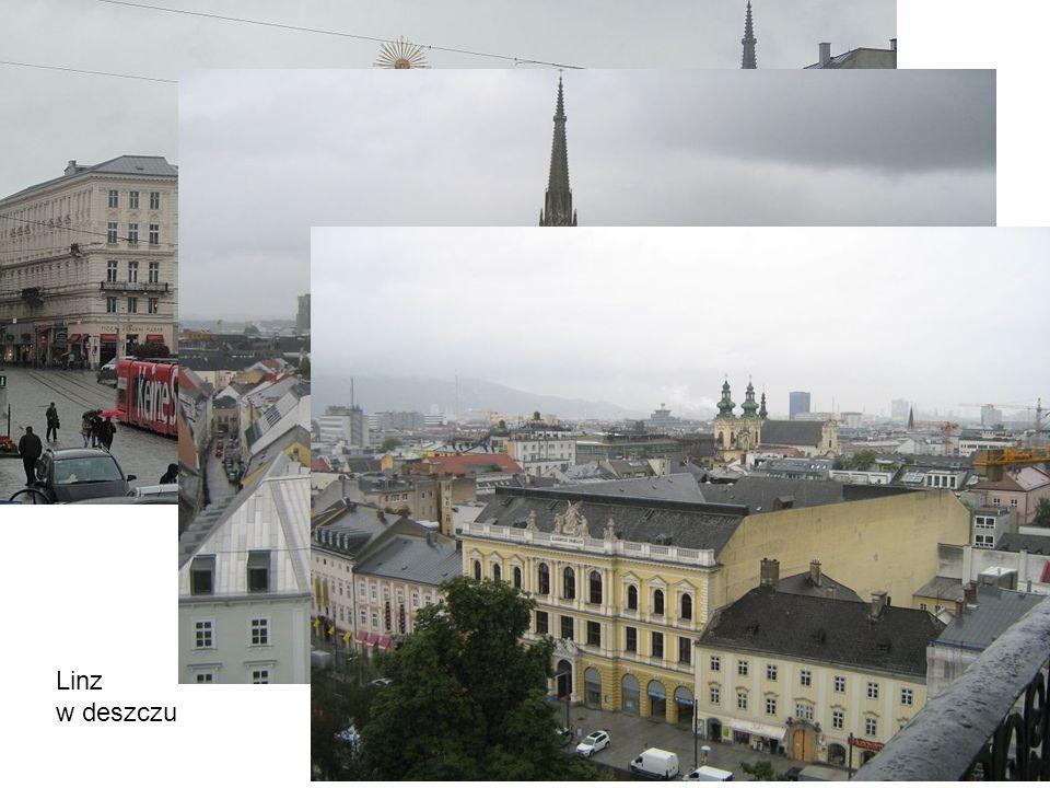 Linz w deszczu