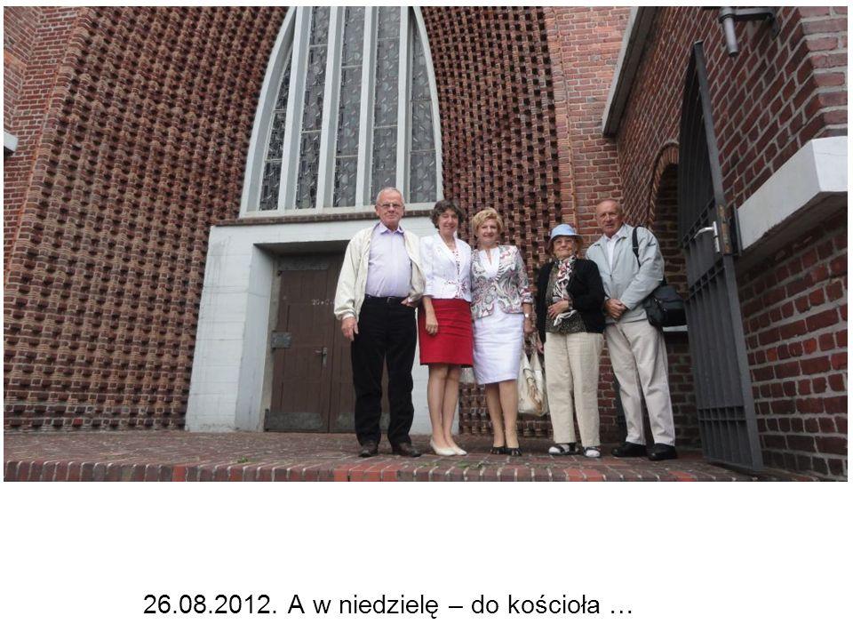 26.08.2012. A w niedzielę – do kościoła …