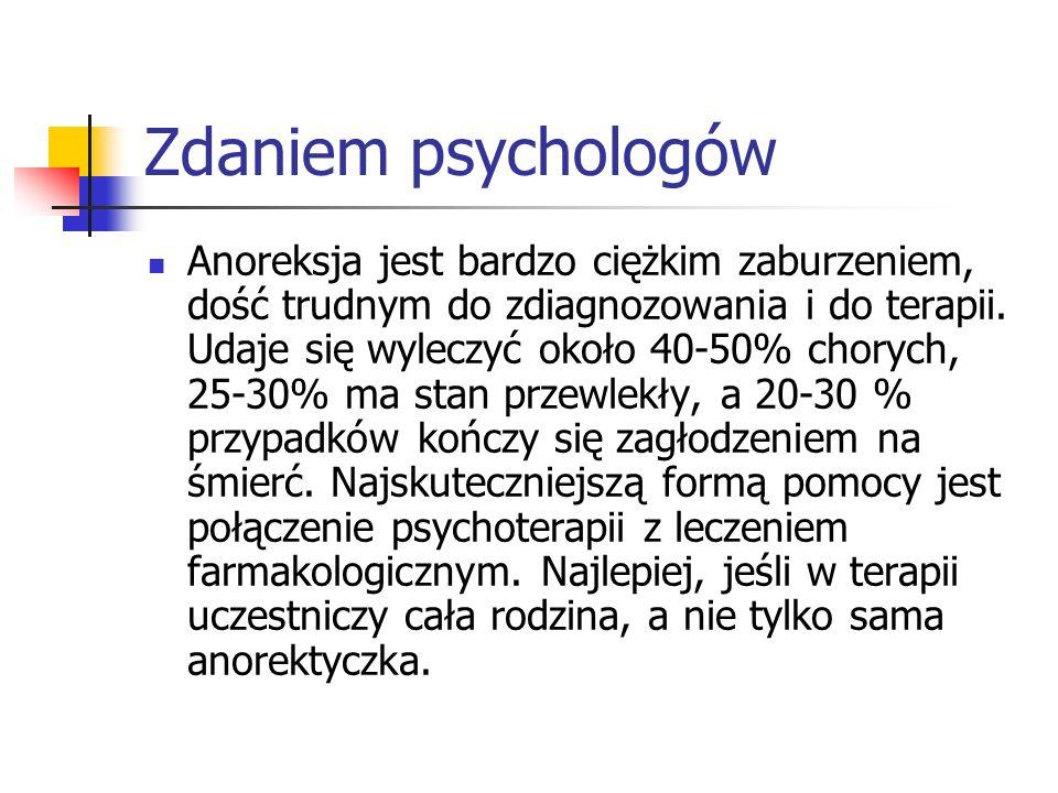 Zdaniem psychologów