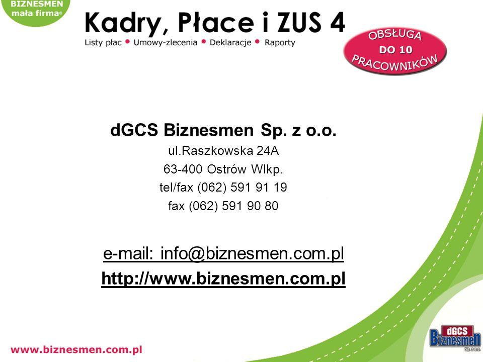 e-mail: info@biznesmen.com.pl