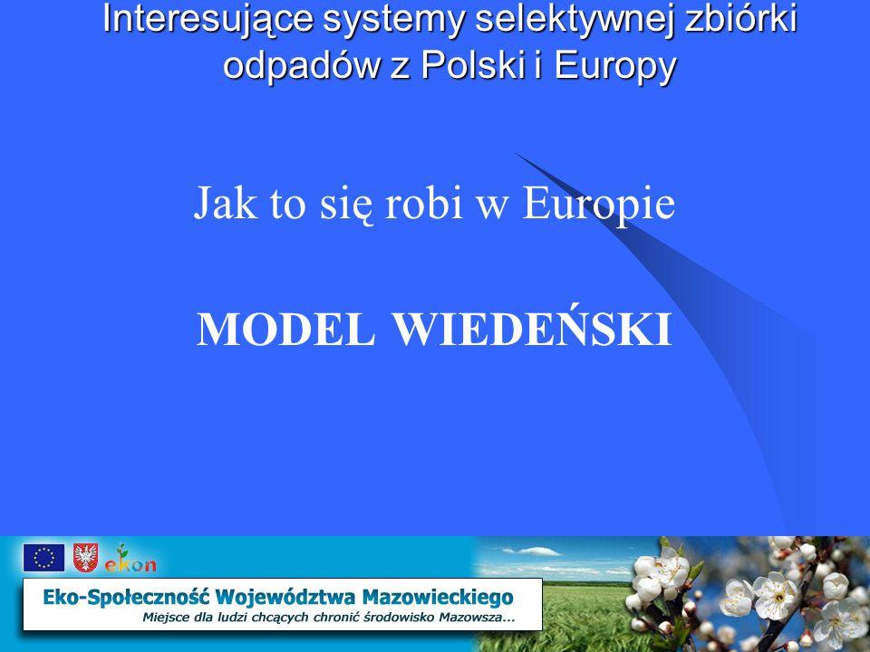 Interesujące systemy selektywnej zbiórki odpadów z Polski i Europy