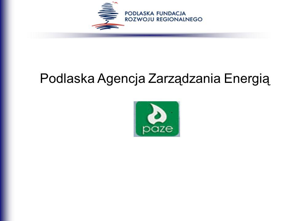 Podlaska Agencja Zarządzania Energią