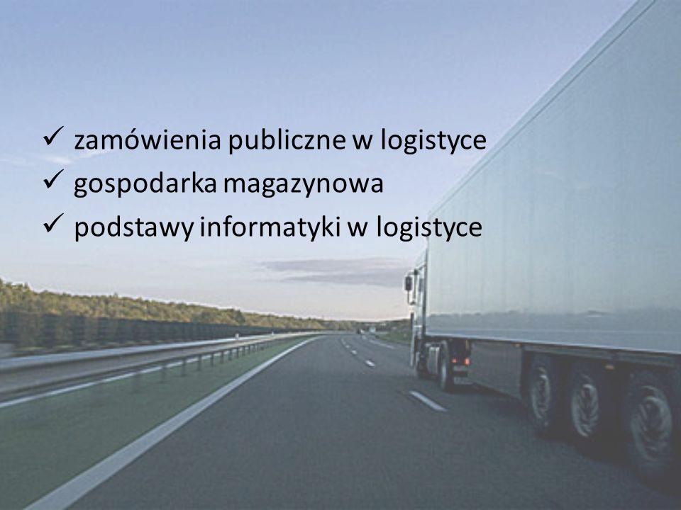 zamówienia publiczne w logistyce
