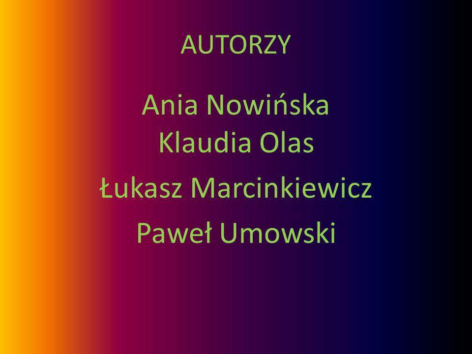 Ania Nowińska Klaudia Olas Łukasz Marcinkiewicz Paweł Umowski