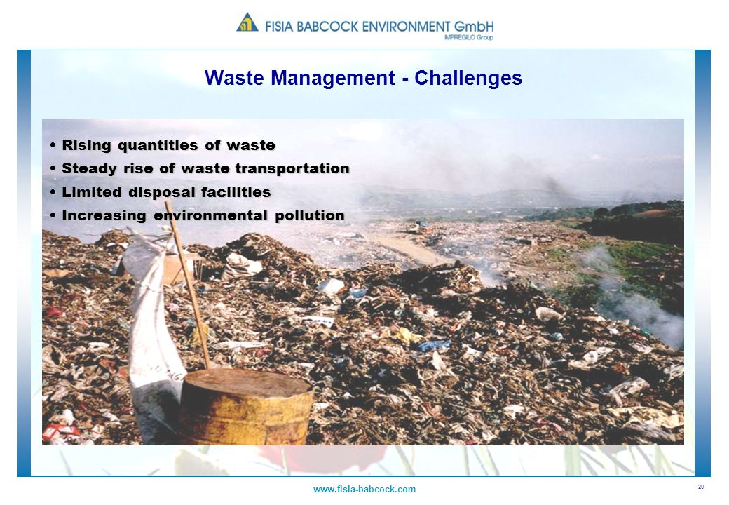 Waste Management - Challenges