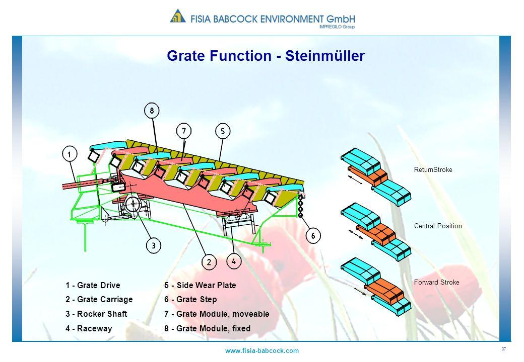 Grate Function - Steinmüller