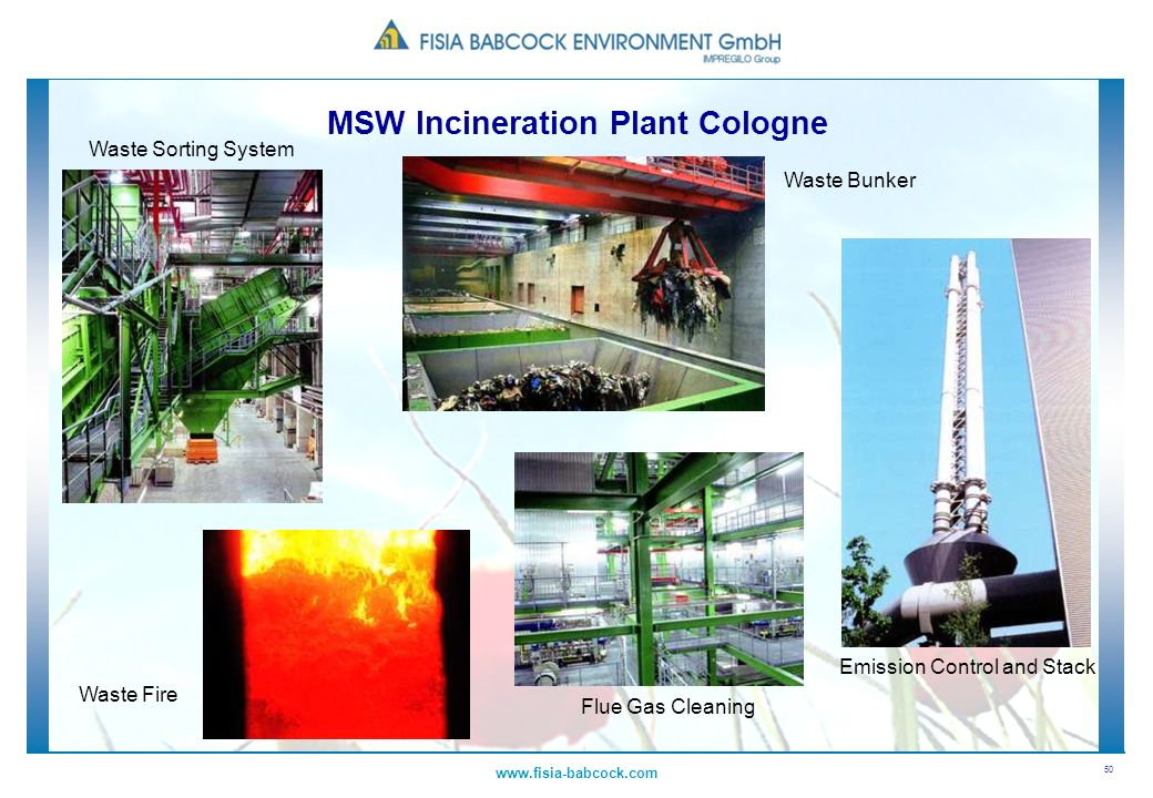 MSW Incineration Plant Cologne