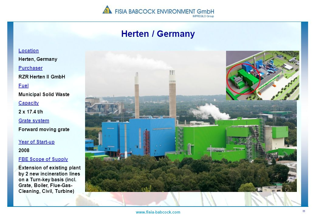 Herten / Germany Location Herten, Germany Purchaser RZR Herten II GmbH