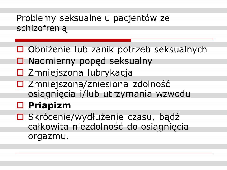 Problemy seksualne u pacjentów ze schizofrenią