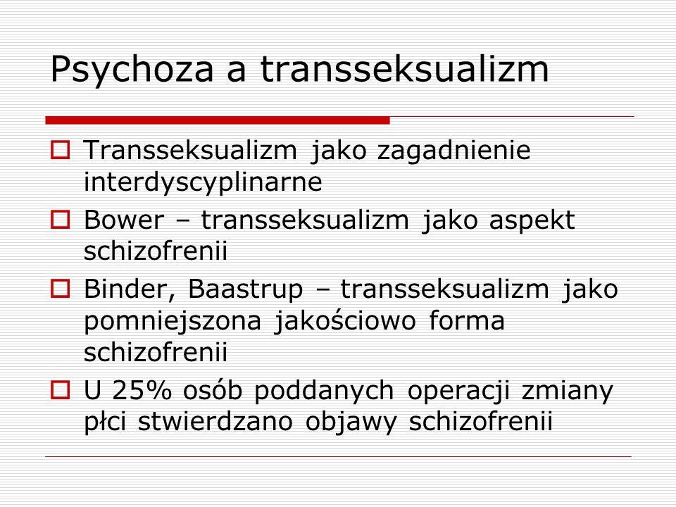 Psychoza a transseksualizm