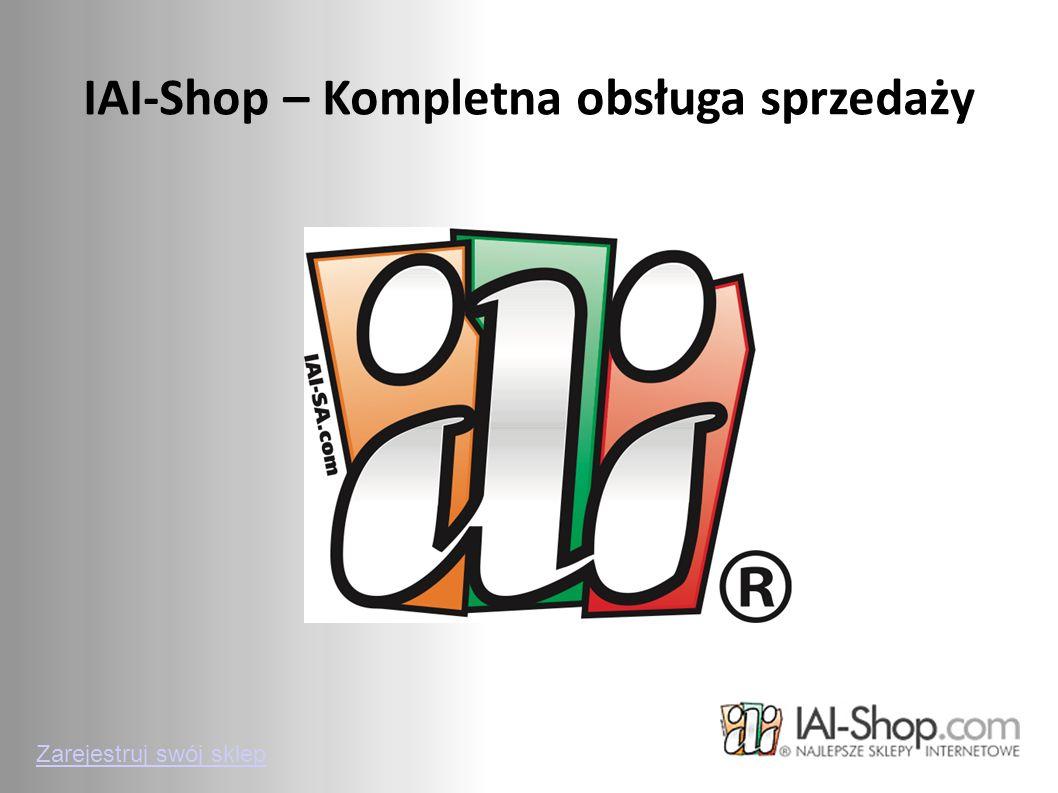 IAI-Shop – Kompletna obsługa sprzedaży